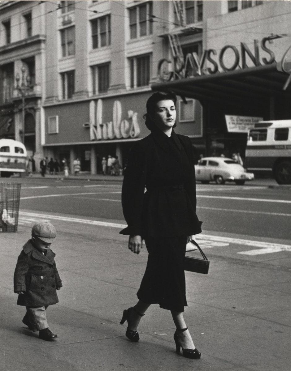 Dorothea Lange, Mother and Child, San Francisco, 1952