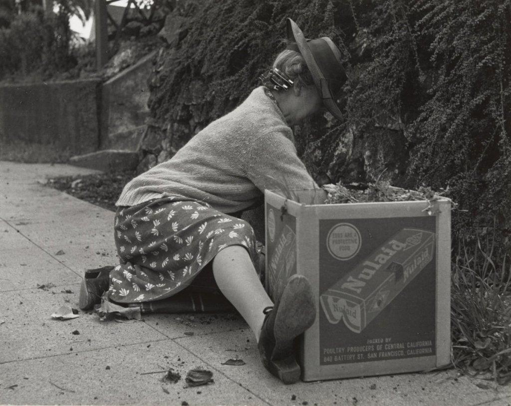 Dorothea Lange, Spring in Berkeley, 1952.