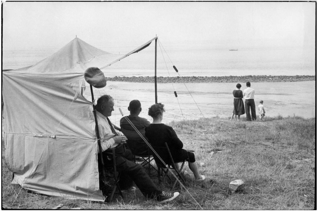 FRANCE. Basse-Normandie. Calvados. Honfleur. 1955.
