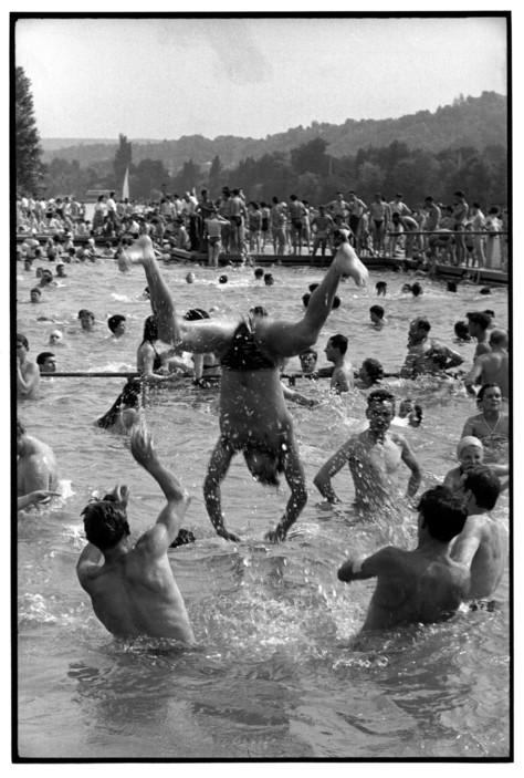 FRANCE. The river Seine. 1955.Ê Ile-de-France. Yvelines.