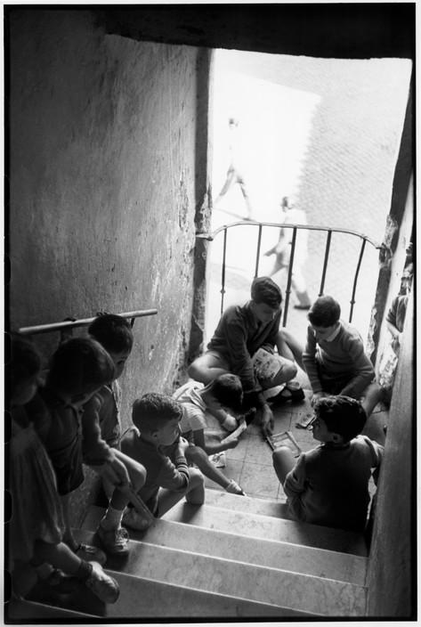 ITALY. Rome. Trastevere. 1952.