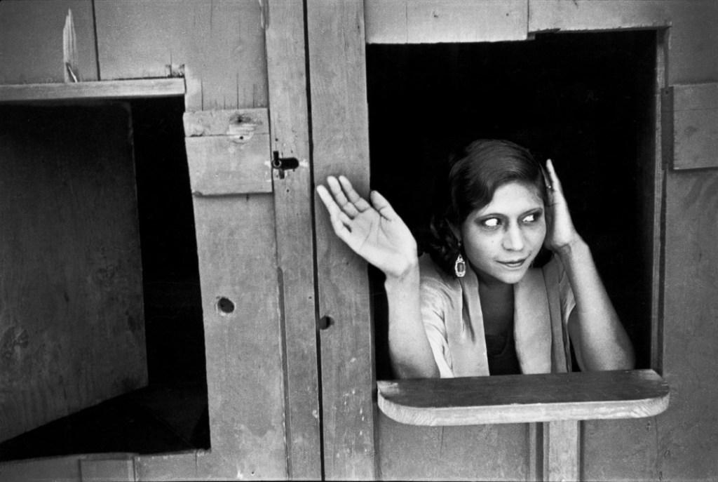 MEXICO. Mexico City. Prostituées. Calle Cuactemoczin. 1934.