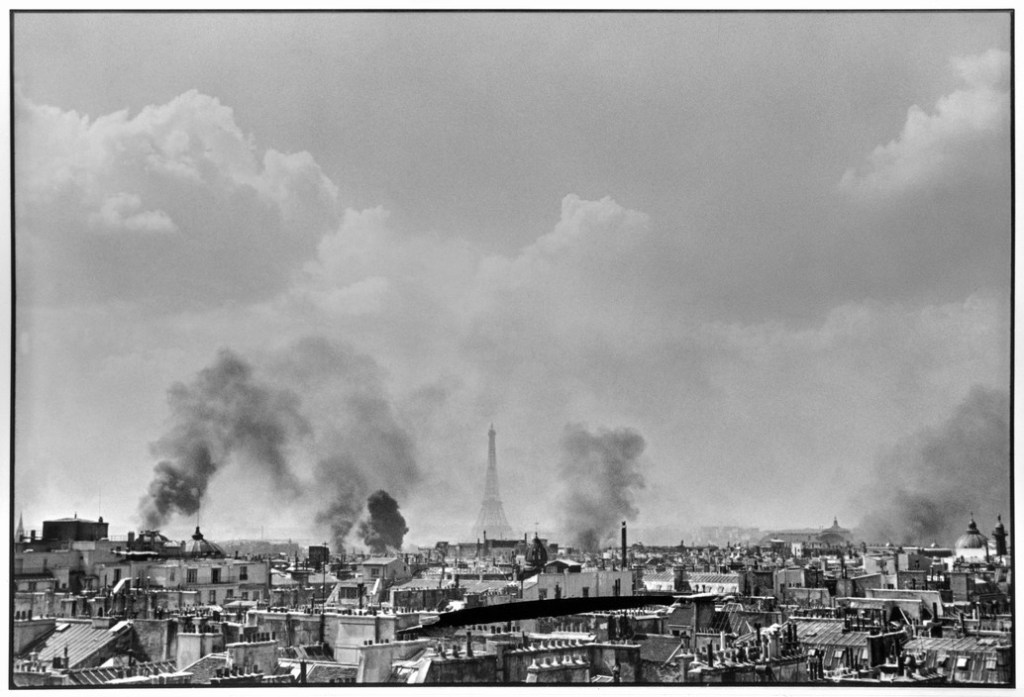 Paris. 1944. 22-25th August.