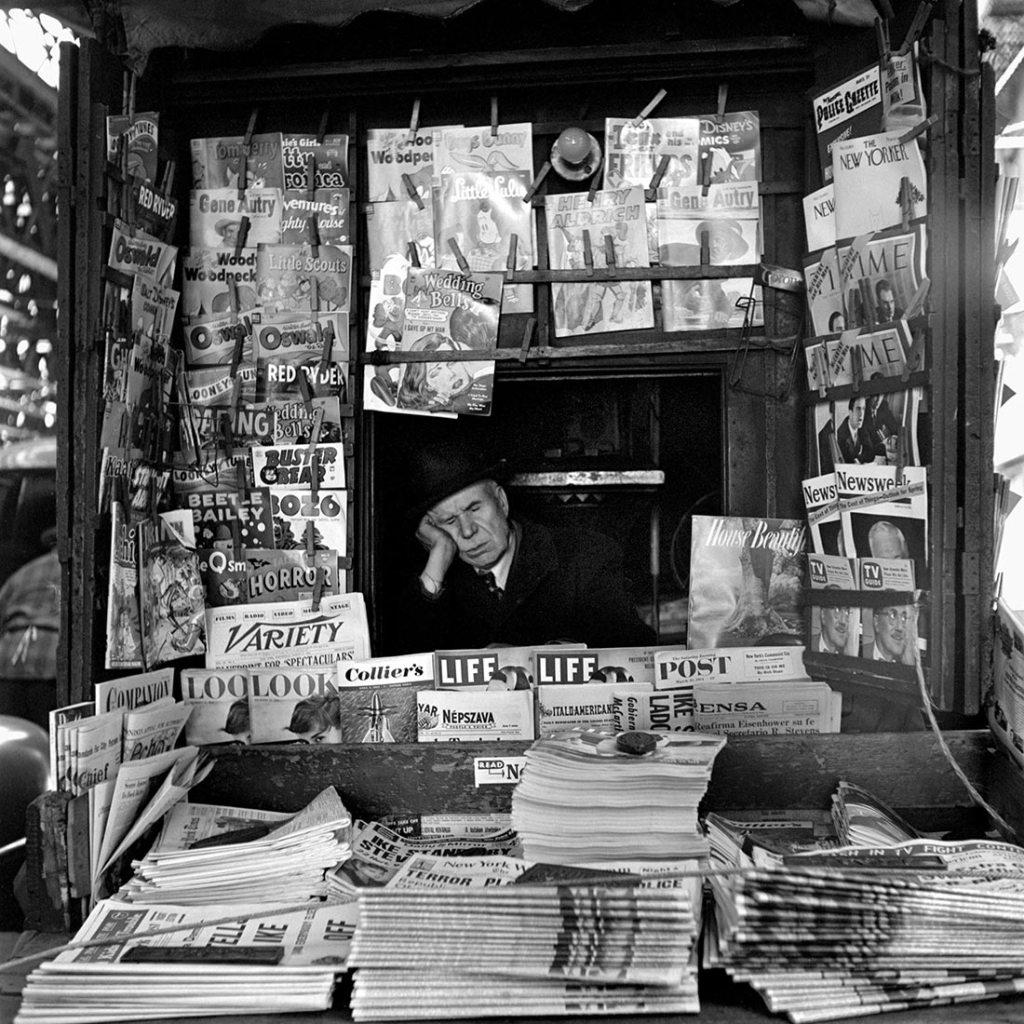 Vivian Maier, March 1954. New York, NY.