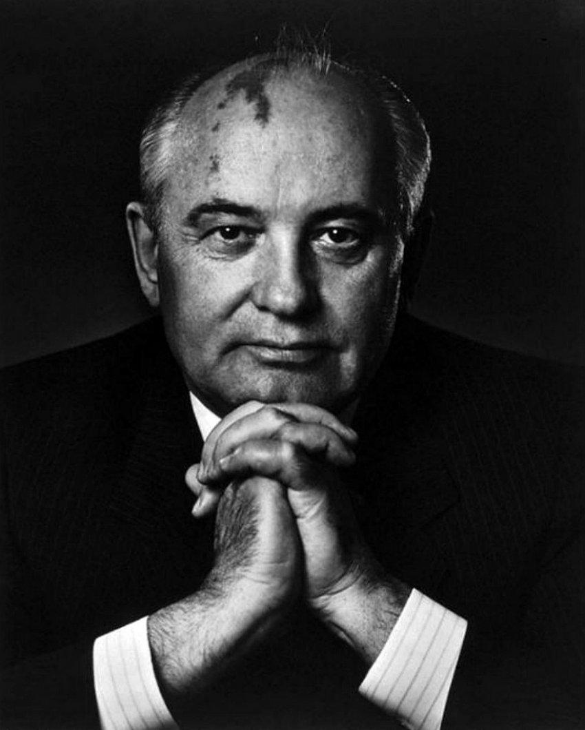 Yousuf Karsh, Michail Gorbaczow