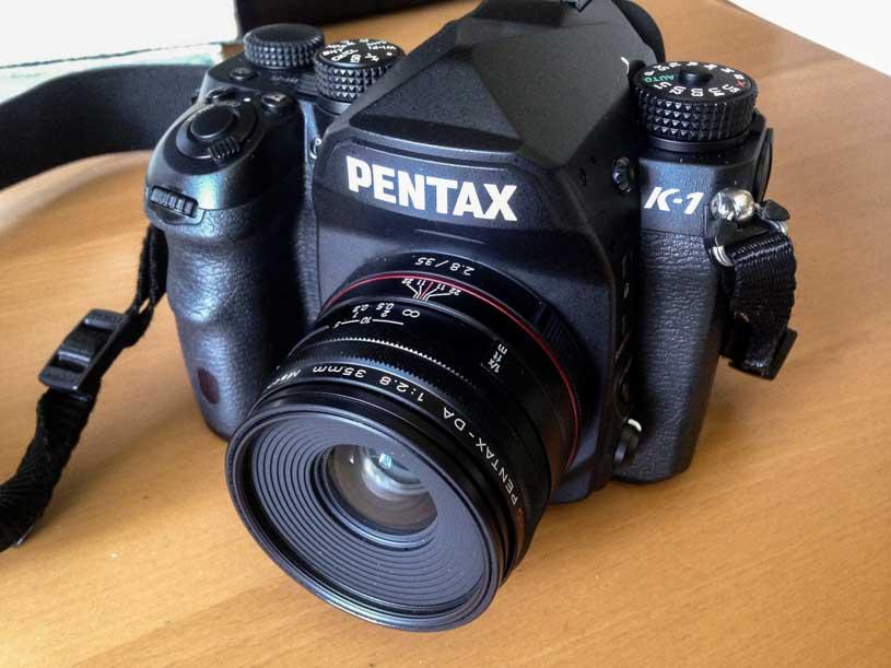 pentax k-1, camara, analisis