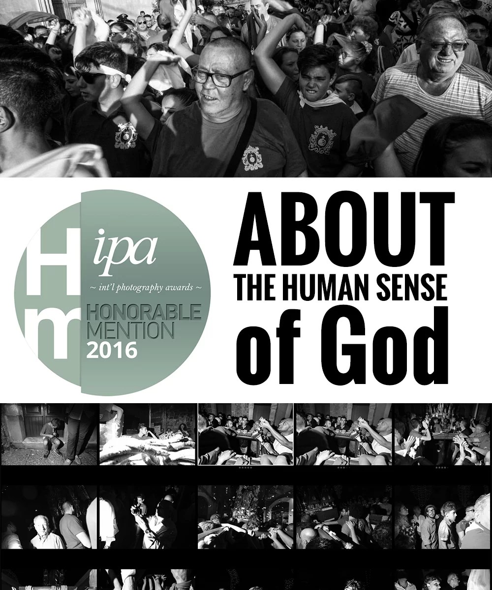 ABOUT THE HUMAN SENSE OF GOD - Honorable Mention - Ipa 2016