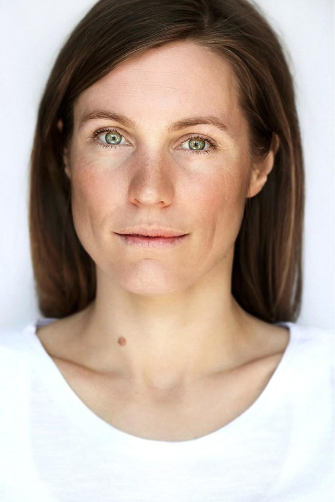 Portrait von Simone Oswald schauspielerin aus dem Schnawwel in Mannheim.