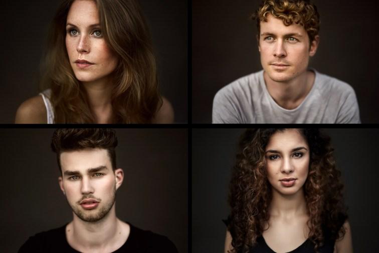 Portraits an der Popakademie von den Models aus der Campagne in Mannheim.