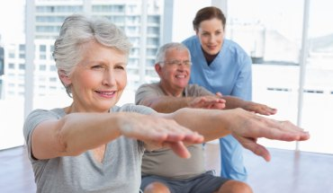 Yoga for Seniors and Osteoporosis
