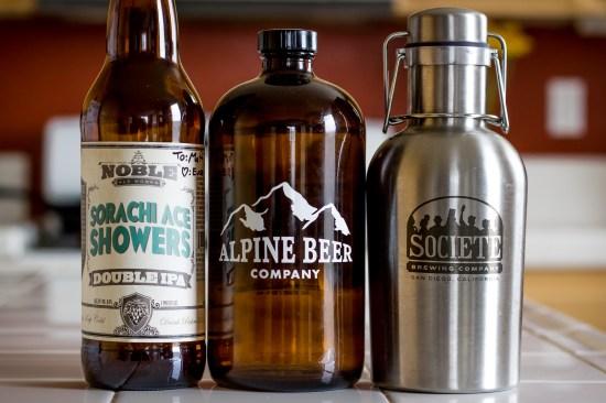 Hoppy Brews from Noble, Alpine, and Societe