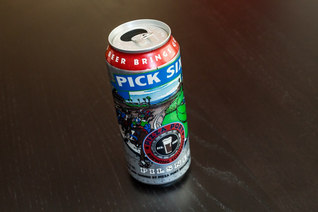 Pizza Port Brewing Company - Pick Six Pilsner