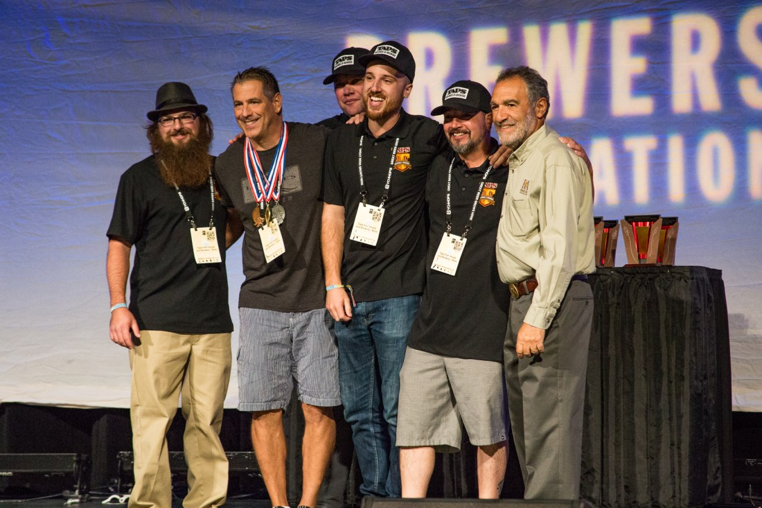 Taps Fish House and Brewery at GABF 2015