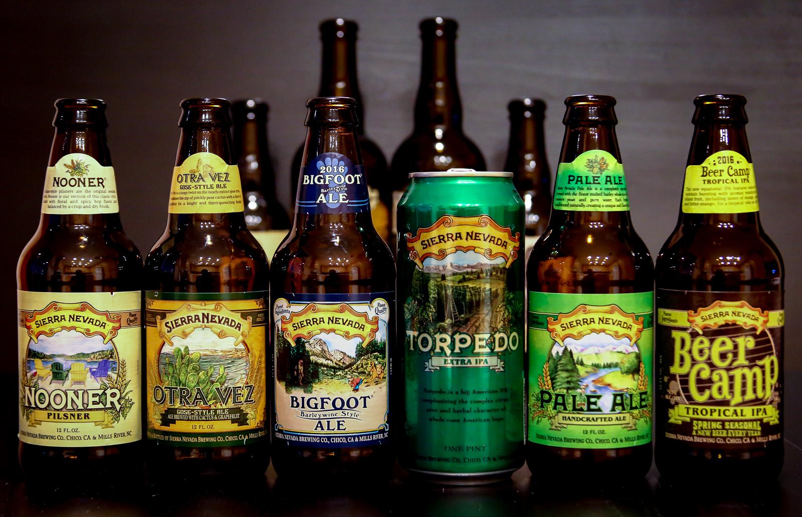 Sierra Nevada Brewing Co. Beers