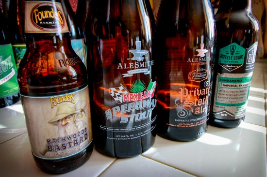 Founders, AleSmith, and Bottle Logic Brewing