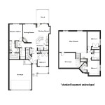 Floor Plans Osprey Duplex