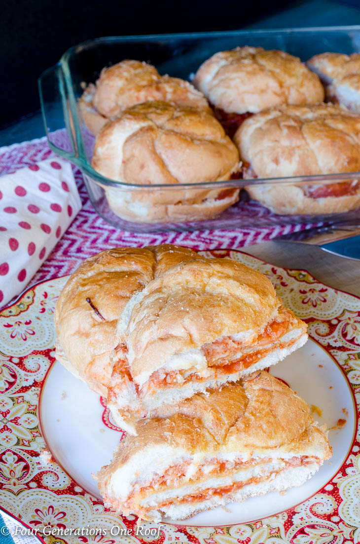Large Of Chicken Parmesan Sandwich