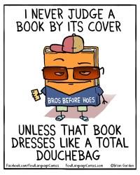judging a book