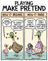 make pretend