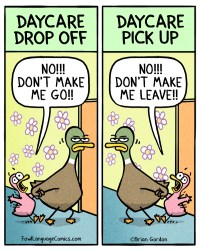 daycare drop off