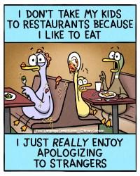 kids in restaurants (new)