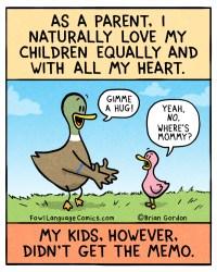 love my kids equally