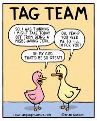 tag team