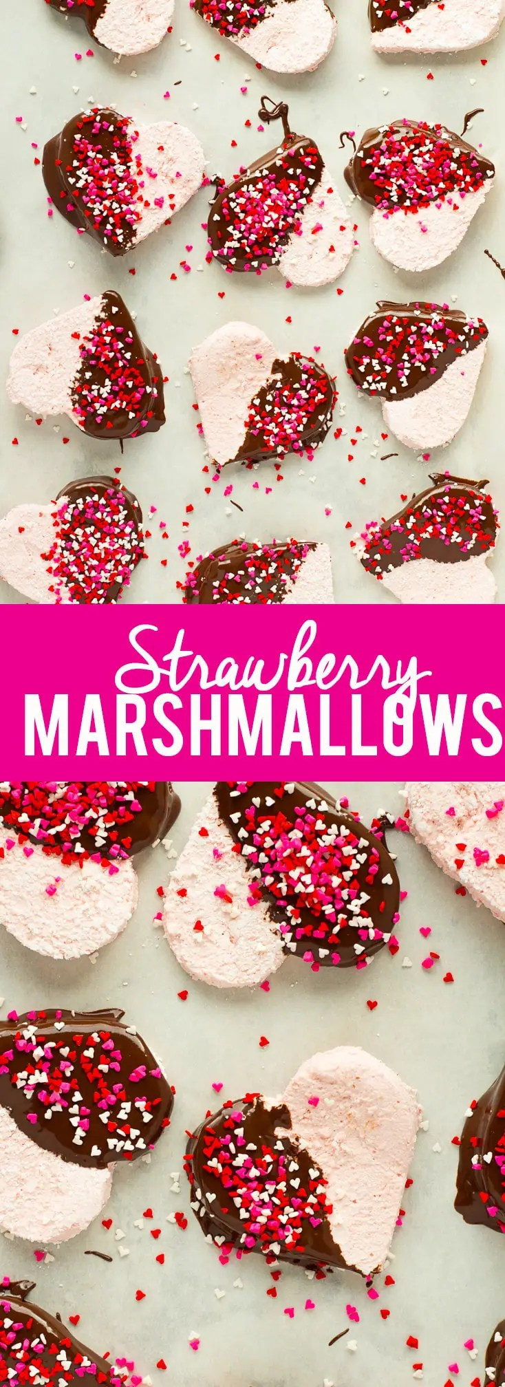 These Homemade Strawberry Marshmallows are fun and simple to make, and ...