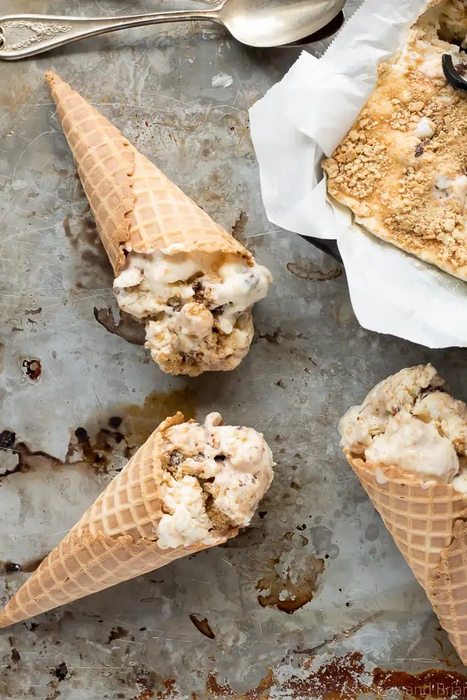 No Church S'mores Ice Cream by Fox and Briar