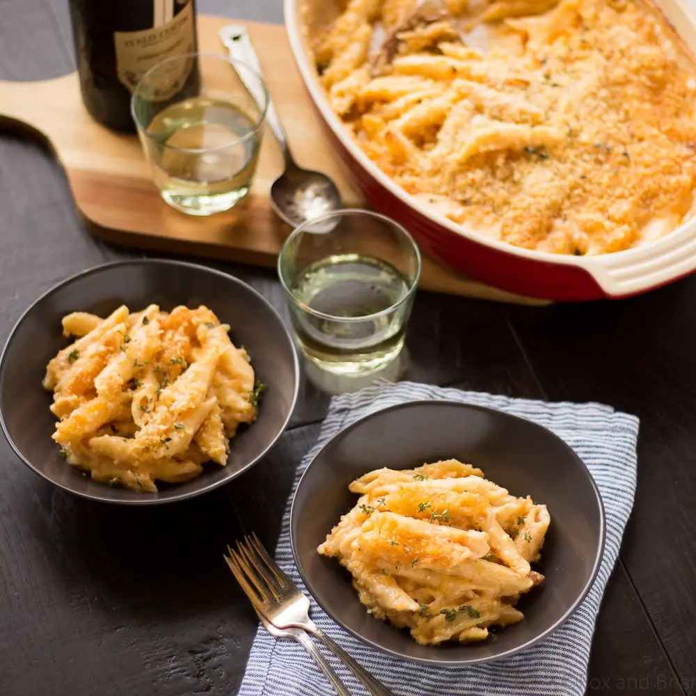 Four Cheese Truffle Mac and Cheese