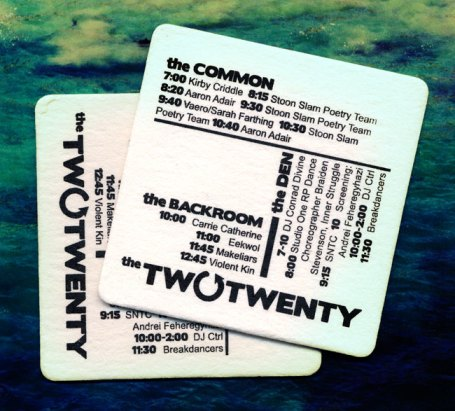 The Two Twenty Coaster