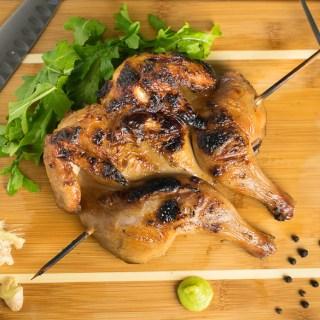 Asian Brined Cornish Hen