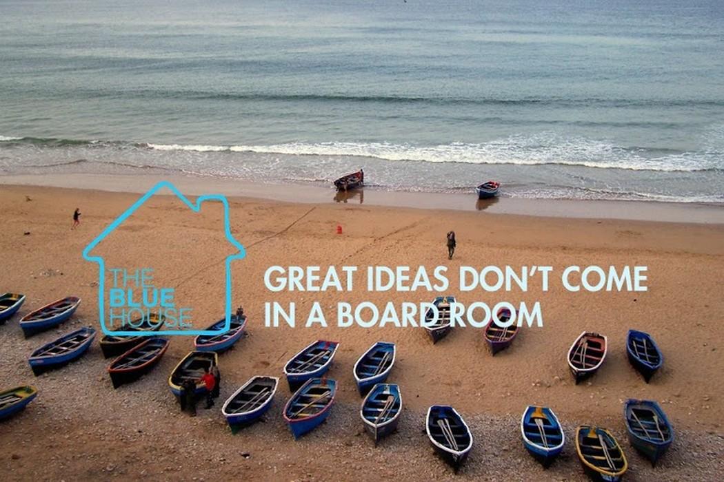 """""""Les grandes idées ne naissent pas dans une salle de réunion"""" Aline Mayard, fondatrice de The Blue House"""