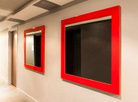 Framemakers-International-custom-red-mirrors