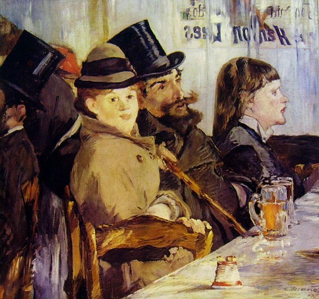 Edouard Manet: Al caffè