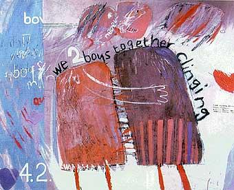 Hockney David: We Two Boys Together Clinging