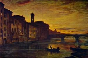 L'Arno a Santa Trinità di fontanesi