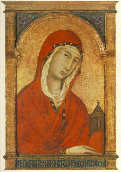 Santa Maddalena, 44.2 x 29.1 cm, Monaco di Baviera, Alte Pinakothek , (intorno al 1320)