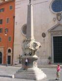 Bernini: obelisco della minerva