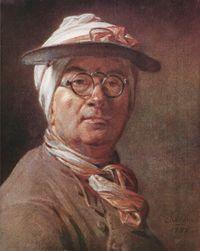 Jean-Baptiste-Siméon Chardin - autoritratto