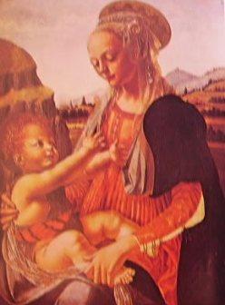 Madonna col bambino 1465: Verrocchio.