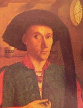 Ritratto di Edward Grymstone, Petrus Chistus 1446, Gorhambury