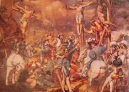 Crocifissione 1521: Artista Pordenone, Duomo di Cremona