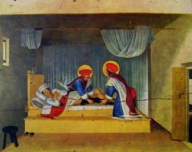 La guarigione del diacono Giustiniano