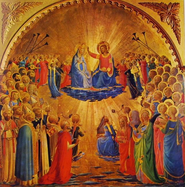 Beato Angelico: Incoronazione della Vergine