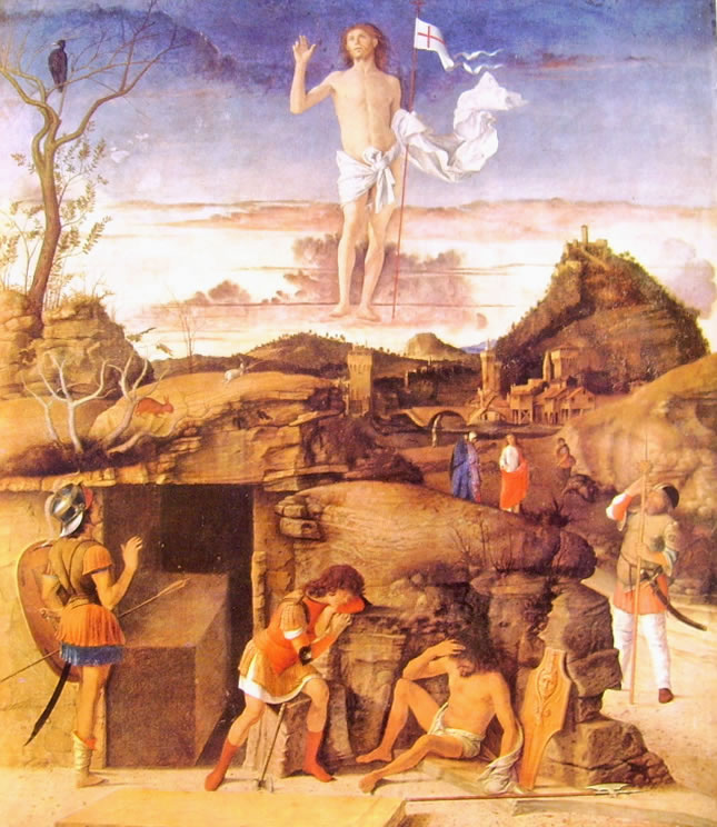 Giovanni Bellini: La Resurrezione