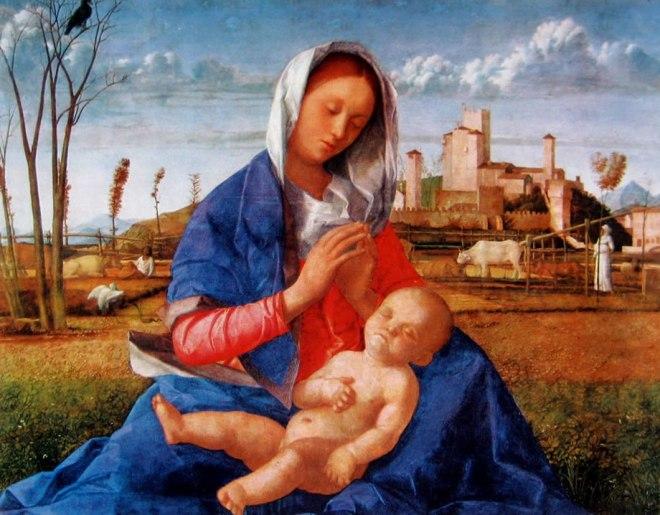 Giovanni Bellini: Madonna del prato