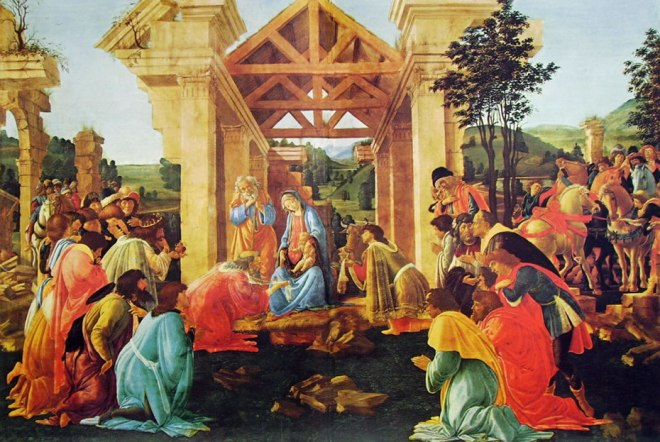Il Botticelli: Adorazione dei magi della National Gallery of Washington