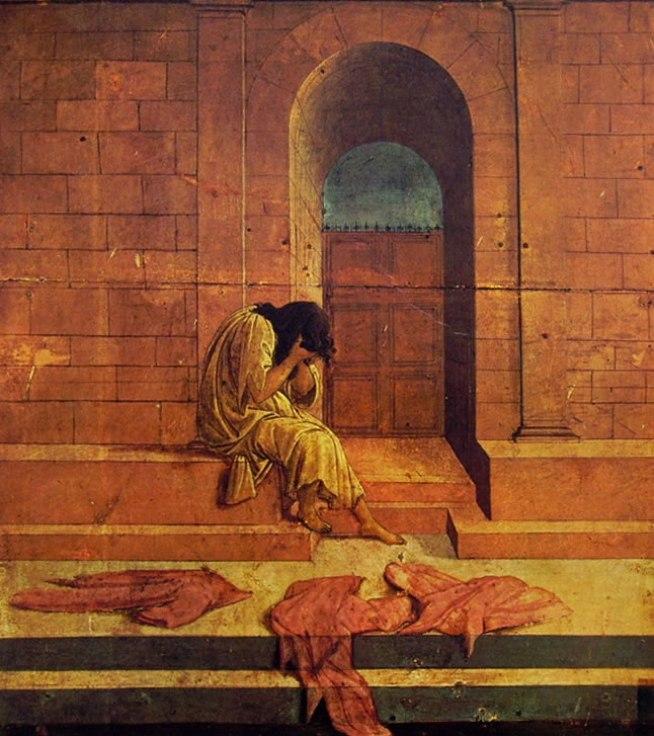 Il Botticelli: La derelitta