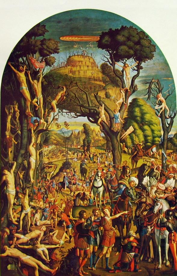 I diecimila crocifissi a Monte Ararat